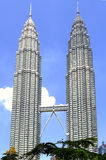Malaysia, Kuala Lumpur: Torres de Petronas Imagem de Stock
