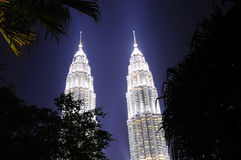 Malaysia; Kuala lumpur; twin towers of petronas Stock Image