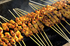 Malaysia, Langkawi: Sate Barbecue Royalty Free Stock Photography