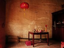Malaysia, Malacca: Chinese temple Stock Photography