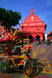 MALAYSIA. MALACCA - A view of Christ Church & Dutch Square on 7/ Stock Images