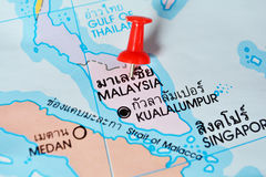 Malaysia map Stock Photo