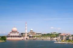 malaysia meczet Putrajaya Zdjęcie Royalty Free