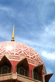 malaysia meczet Putrajaya Obraz Royalty Free