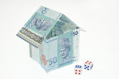 Malaysia Money House Stock Photo