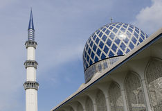 malaysia moské royaltyfri foto