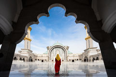 Malaysia Mosque Stock Photo