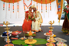 Malaysia Multi Ethnic Wedding Exhibition Stock Image
