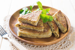 Malaysia muslim food Martabak or murtabak Stock Photos