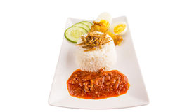 Malaysia Nasi Lemak I Royalty Free Stock Photography