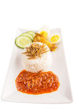 Malaysia Nasi Lemak III Royalty Free Stock Photography