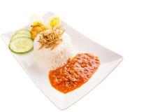 Malaysia Nasi Lemak IV Stock Image