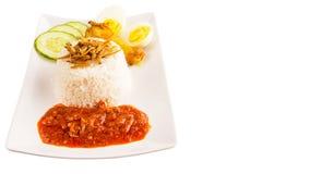 Malaysia Nasi Lemak IX Royalty Free Stock Image