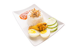 Malaysia Nasi Lemak V Royalty Free Stock Photography