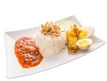 Malaysia Nasi Lemak VI Stock Photo