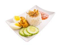 Malaysia Nasi Lemak X Stock Photo