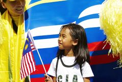 Malaysia National Day Celebration Royalty Free Stock Photos