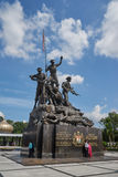 Malaysia National Monument in Kuala Lumpur Stock Photography