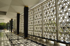 Malaysia National Mosque aka Masjid Negara Royalty Free Stock Images