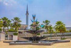 Malaysia national mosque in Kuala Lumpur Stock Photography