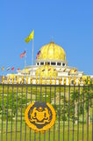 Malaysia national palace. The national palace of Malaysia is the residence of the King of Malaysia and a symbol of the constitutional monarchy ruling system of Royalty Free Stock Photo