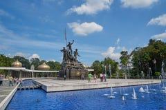 Malaysia-Nationaldenkmal in Kuala Lumpur Stockfoto