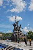 Malaysia-Nationaldenkmal in Kuala Lumpur Lizenzfreies Stockfoto