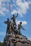 Malaysia-Nationaldenkmal in Kuala Lumpur Lizenzfreies Stockbild