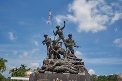 Malaysia-Nationaldenkmal in Kuala Lumpur Stockfotos