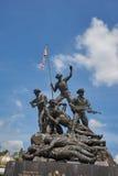Malaysia-Nationaldenkmal in Kuala Lumpur Lizenzfreie Stockfotografie