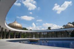 Malaysia nationell monument i Kuala Lumpur Arkivfoto