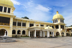 Malaysia old Royal Palace in Kuala Lumpur, Malaysia Royalty Free Stock Images