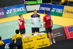 Malaysia Open Badminton Championship 2013 Stock Photo