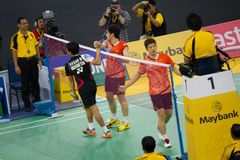 Malaysia Open Badminton Championship 2013 Royalty Free Stock Photo