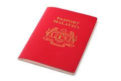 Malaysia passport Royalty Free Stock Photos