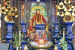 Malaysia, Penang: Chinese temple Stock Images