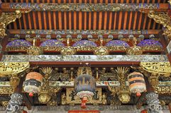 Malaysia, Penang: Chinesischer Tempel lizenzfreie stockbilder