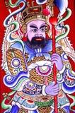 Malaysia, Penang: Figura chinesa do templo Fotos de Stock Royalty Free