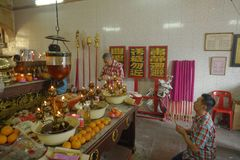 Malaysia, Penang George Town Chinese New Year lizenzfreie stockfotos