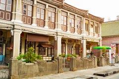 MALAYSIA, PENANG, GEORGETOWN - CIRCA JUL 2014: Beautiful, Coloni Royalty Free Stock Images
