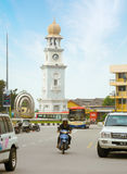 MALAYSIA, PENANG, GEORGETOWN - CIRCA JUL 2014: The beautiful fac Royalty Free Stock Photo