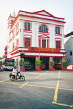 MALAYSIA, PENANG, GEORGETOWN - CIRCA JUL 2014: This ornate build Stock Photo