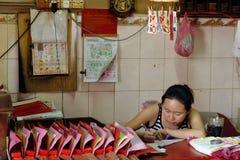 Malaysia Penang GeorgeTown kinesiskt nytt år Royaltyfri Fotografi