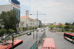 Malaysia Penang street view Stock Photo