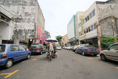 Malaysia Penang street view Stock Images