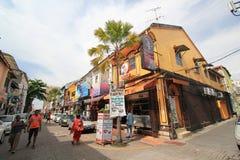Malaysia Penang street view Stock Images