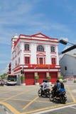 Malaysia Penang street view Stock Photos