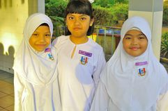 Malaysia primary school children Royalty Free Stock Photography