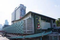 Malaysia Puduraya Bus Station stock photo