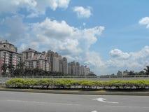 Malaysia - Putrajaya - Blöcke von Wohnungen Stockfoto